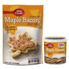 Limited Edition Betty Crocker Maple Bacon Cookie Mix & Frosting