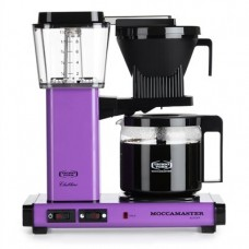 Technivorm Moccamaster 59606 KBG 741 AO 10-Cup 1.25-Liter Auto Drip-Stop Brew-Basket Coffee Brewer with Glass Carafe, 40-Ounce, Grape