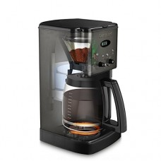 Cuisinart DCC-1200BKS Brew Central Coffee Maker, 12 Cup Carafe, Black Stainless Steel