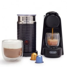 DeLonghi America, Inc EN85BAE Nespresso Essenza Mini espresso Machine by De'Longhi with Aeroccino, Black
