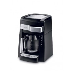 DeLonghi DCF2212T 12-Cup Glass Carafe Drip Coffee Maker, Black