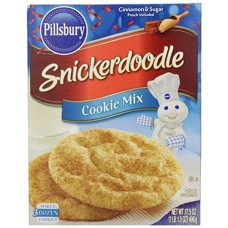 Pillsbury Snickerdoodle Cookie Mix 17.5 Oz (Pack of 2)