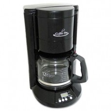 "Coffee Pro - Home/Office 12-Cup Coffee Maker Black ""Product Category: Breakroom And Janitorial/Appliances"""
