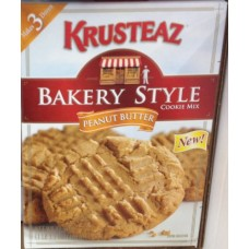 Krusteaz Bakery Style PEANUT BUTTER Cookie Mix 17.5oz (4 Boxes)