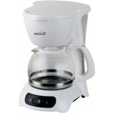4 Cup Coffee Maker, White