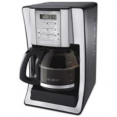 Mr. Coffee SJX39 12-Cup Programmable Coffeemaker, Chrome