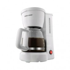 Black & Decker 5-cup Coffeemaker with White finish