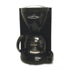 Coffeepro CP6B Coffeemaker, 4-Cup, 6-1/2 in.x7-1/4 in.x10 in., Black