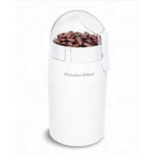 Proctor Silex Fresh Grind Coffee Grinder, White, E160BY, New