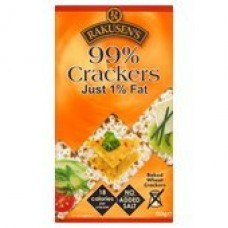 Rakusens 99% Crackers Just 1% Fat 150G