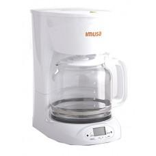 IMUSA USA GAU-18210W Programmable Coffee Maker 12-Cup, White