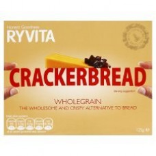 Ryvita Whole- Grain Cracker- Bread 125G x 4
