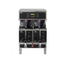 Wilbur Curtis Gemini Twin Coffee Brewer, 1.5 Gal. - Commercial Coffee Brewer  - GEMTS16A1000 (Each)