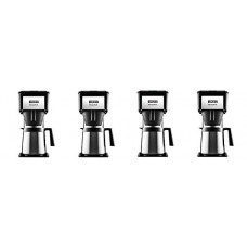 BUNN BT Velocity Brew 10-Cup Thermal Carafe Home Coffee Brewer, Black (4-(Pack))