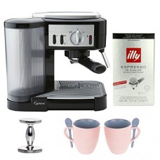 Capresso (115.01) 1050-Watt Pump Espresso and Cappuccino Machine Bundle