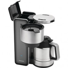 """Panasonic """"Breakfast Collection"""" NC-ZF1V Coffee Maker, Stainless Steel"""
