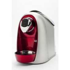 Caffitaly S04 Coffeemaker With Stainless Steel Boiler - Red Metallic & Silver