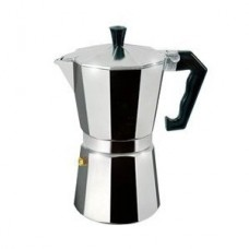 6 Cup Stovetop Espresso Maker - For Gas, Electric, or Ceramic Stovetops