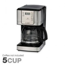 Mr. Coffee JWX31 12-Cup Programmable Pause N Serve Coffee Maker, Stainless Steel