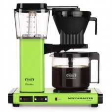 Technivorm Moccamaster 59609 KBG 741 AO 10-Cup 1.25-Liter Auto Drip-Stop Brew-Basket Coffee Brewer with Glass Carafe, 40-Ounce, Fresh Green