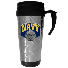Siskiyou Sports Navy Textured Travel Mug
