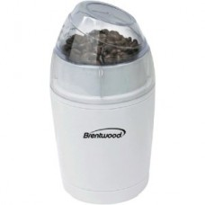 Brentwood CG-150 Coffee Grinder - 3.50 oz - White