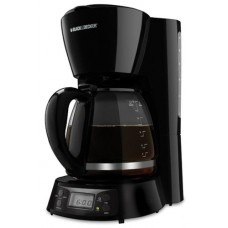 Black & Decker BCM1411B 12-Cup Coffee Maker, 220-volt