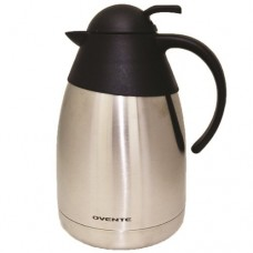 Ovente THB15 Stainless Steel Double Wall Vacuum Insulated Coffeemaker Carafe, 1.5-Liter, Brushed