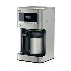 DeLonghi America Braun KF7175 Braun Sense Thermal Drip Coffee Maker, Stainless Steel