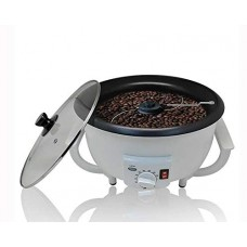 Household Coffee Bean Roaster Durable Coffee Beans Baker Electric Coffee Beans Roasting Machine (110V)