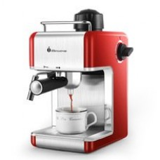 Italy Espresso Coffee Machine Automatic Coffee Maker , Cup-warming Plate and Bar Steam