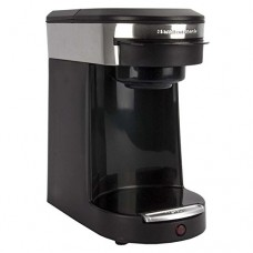 Gold Lion Hamilton Beach Personal 1-cup Coffeemaker Black