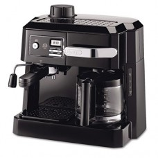 DeLONGHI - BCO320T Combination Coffee/Espresso Machine, Black/Silver BCO320T (DMi EA