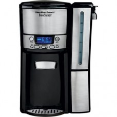 BrewStation 12-Cup Stainless Steel Trim Dispensing Coffeemaker with Removable Reservoir