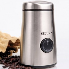 Secura Electric Coffee And Spice Grinder With Stainless-Steel Blades