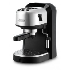 DeLonghi EC270 15-Bar-Pump Espresso Machine, Black and Stainless