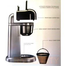 KitchenAid Personal Coffee Maker Machine - Silver (KCM0401CCU)