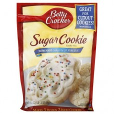 Betty Crocker Cookie Mix, Sugar 17.5 Oz 6 pack