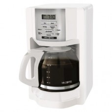 Mr Coffee® White 12-Cup Programmable Coffeemaker