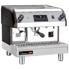 Grindmaster-Cecilware ESP1-220V Venezia II Espresso Brewing Machine, Black/Grey/Stainless Steel