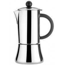 Caroni VE01032 4-Cup Verna Inox Stainless Steel Stove Top Espresso Coffe Maker