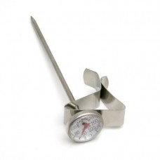 "Steaming Thermometer 1"" Dial & Thermometer Clip - Espresso Milk Frothing"