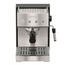 KRUPS XP5280 Pump Espresso Machine with KRUPS Precise Tamp Technology and Stainless Steel Housing, Silver
