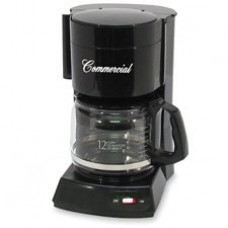 "Coffeemaker, 12-Cup, 10""x9""x14"", Black, Sold as 1 Each"