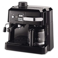 DELONGHI BCO320T BCO320T Combination Coffee/Espresso Machine, Black/Silver