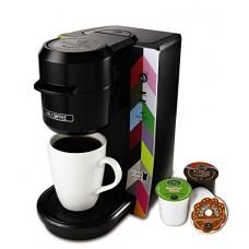 Mr. Coffee BVMC-KG2FB Single Serve Coffee Maker, French Bull Design, Multicolored