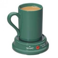 Rival BW8M-GR Green Beverage Warmer with 8 oz mug