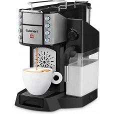 Cuisinart Buona Tazza EM-600 Superautomatic Single Serve Espresso Caffe Latte Cappuccino & Coffee Machine - Black