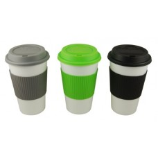 Reduce GoGo's Barista Coffee Cups, 16-Ounce, Fairway White