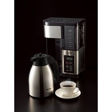Zojirushi EC-YSC100-XB Fresh Brew Plus Thermal Carafe Coffee Maker, 10 Cup, Stainless Steel/Black